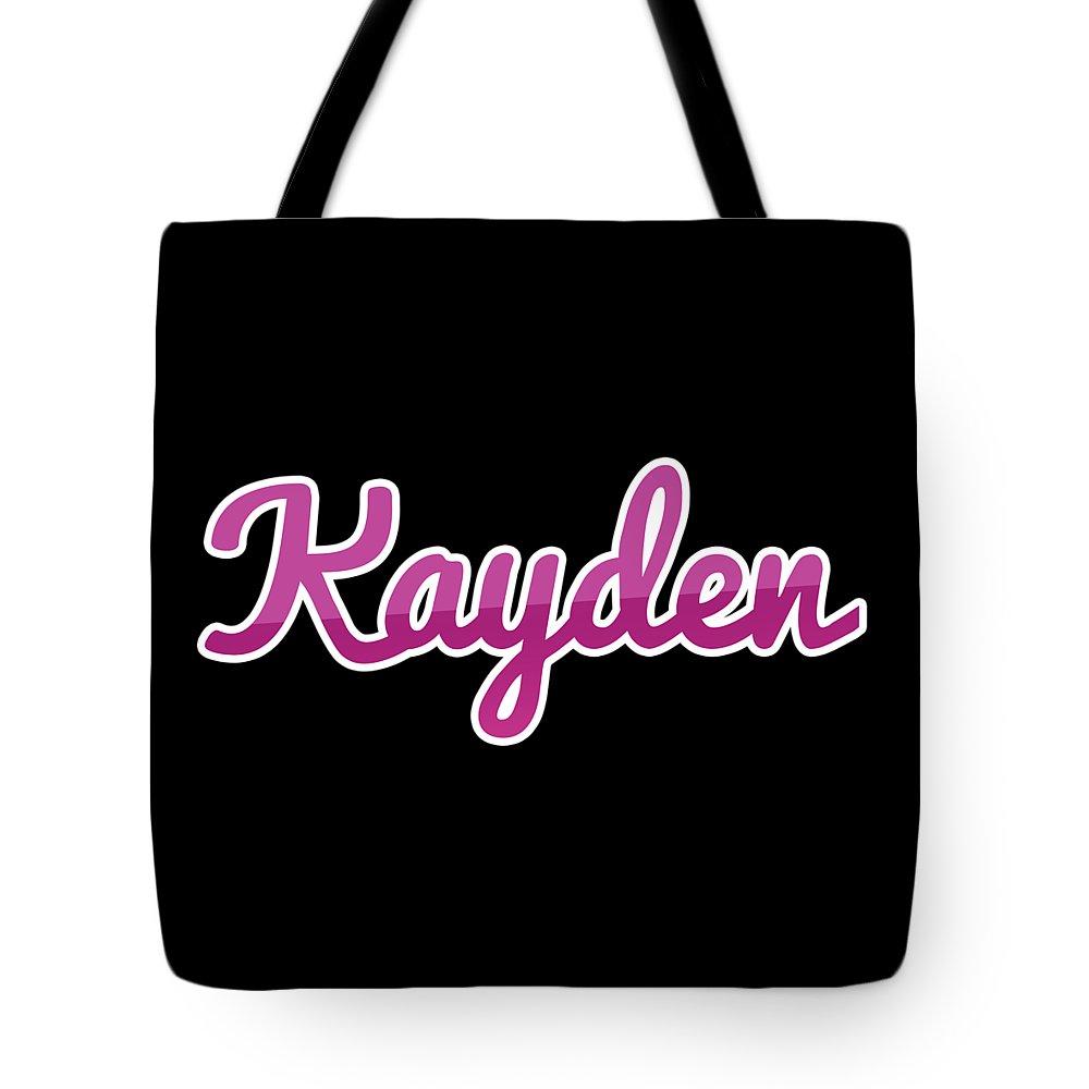 Kayden Tote Bags
