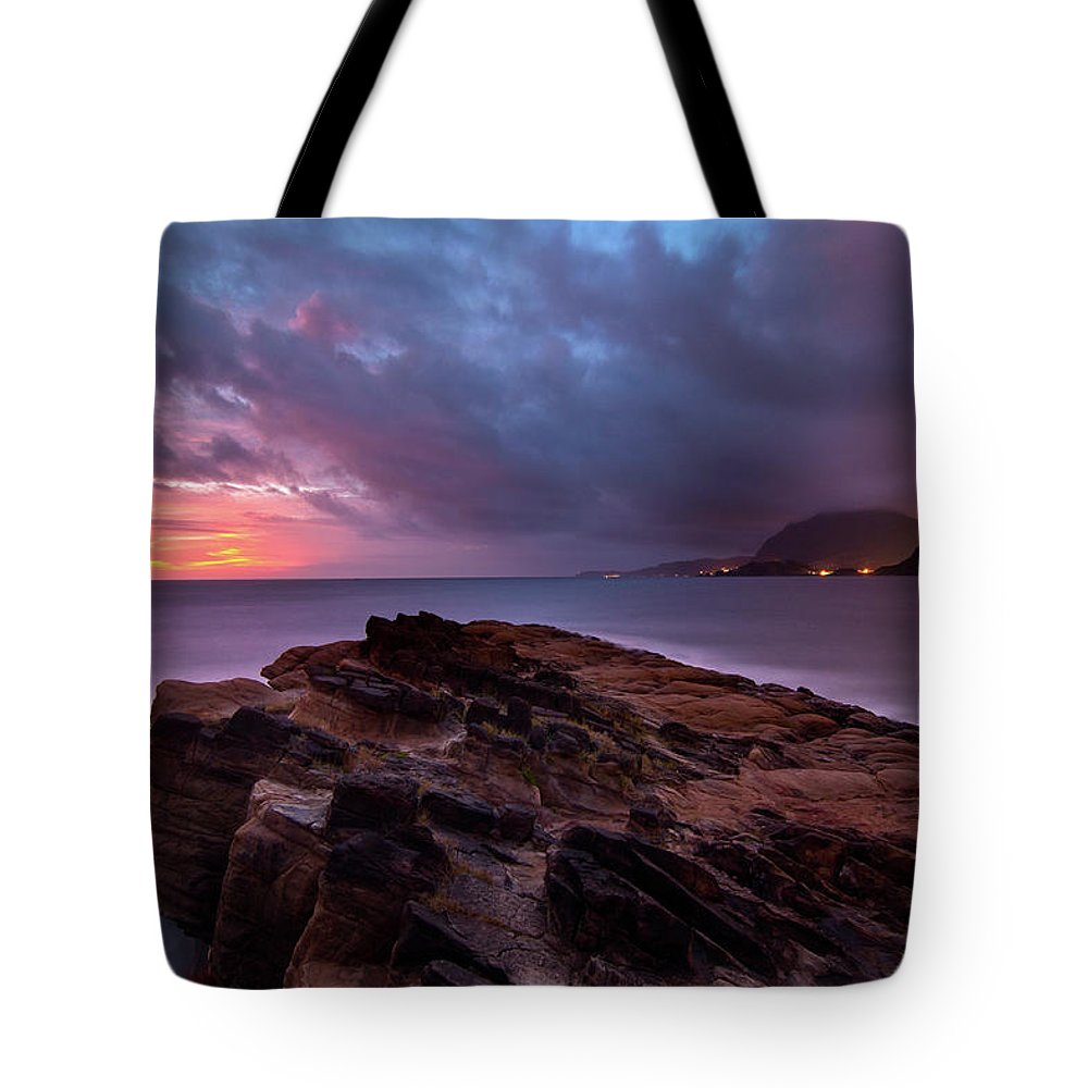 Scenics Tote Bag featuring the photograph Keelung, Taiwan by Chia-hsing Wu