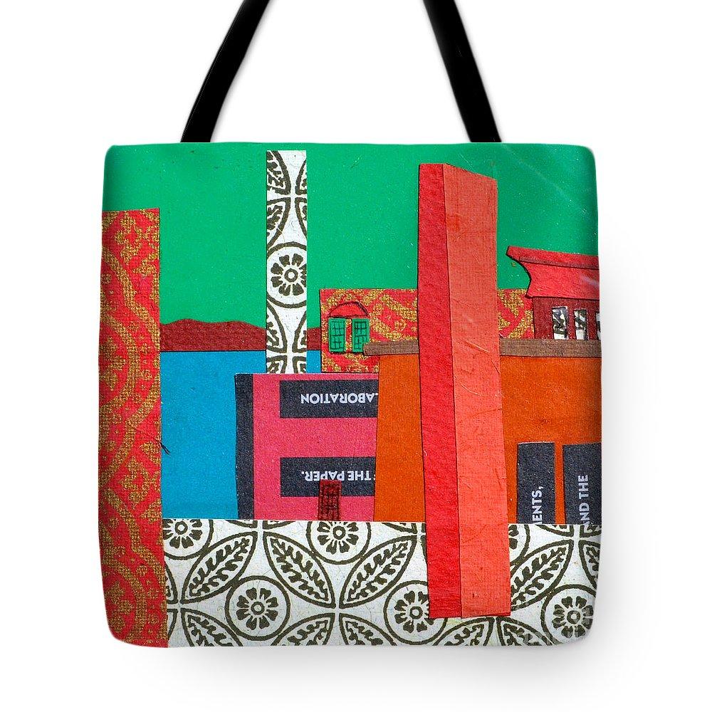 Burlington Tote Bag featuring the mixed media Lake Champlain by Debra Bretton Robinson
