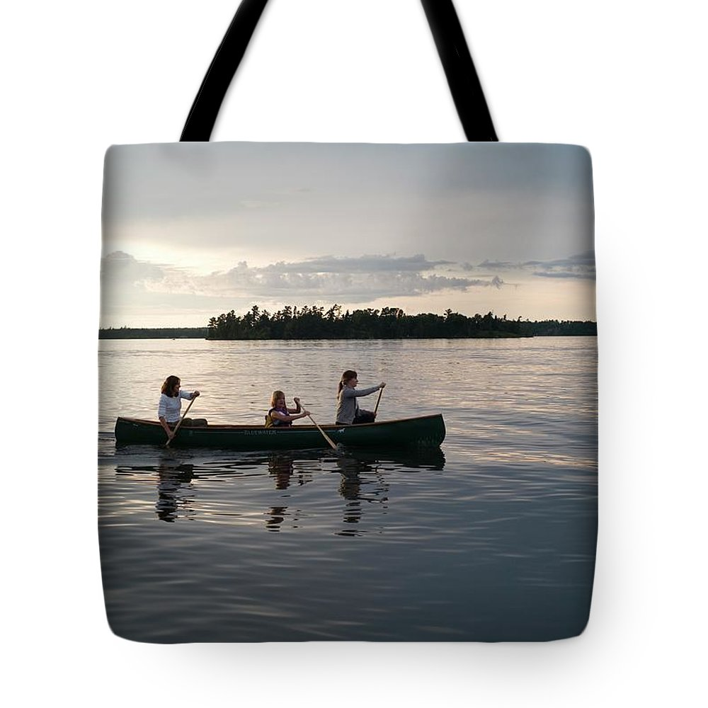 Tranquility Tote Bag featuring the photograph Lake Of The Woods, Ontario, Canada by Design Pics/keith Levit