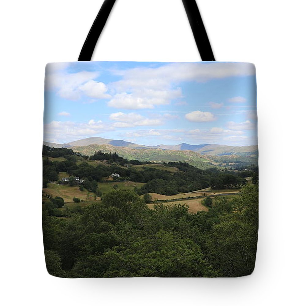 Langdale Tote Bag featuring the photograph Landscape View From Little Langdale by Lukasz Ryszka