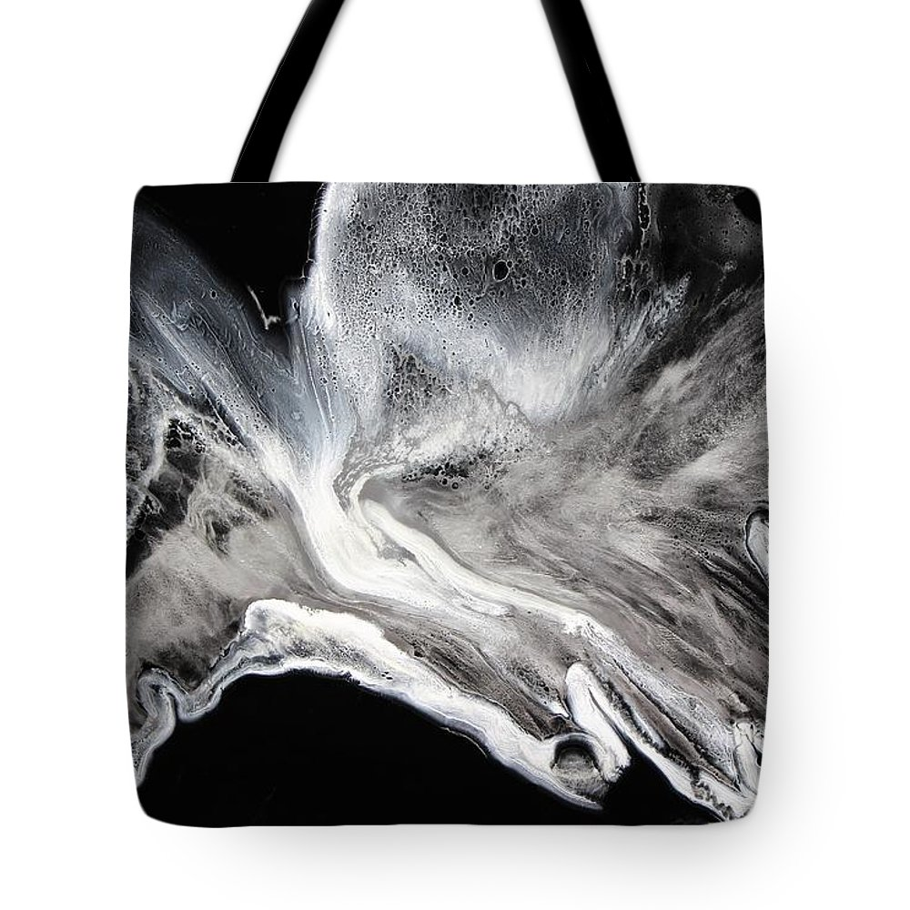 Epoxy resin art tote bags