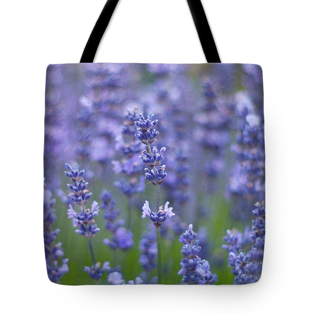 Otago Region Tote Bag featuring the photograph Lavender Flowers by Jill Ferry