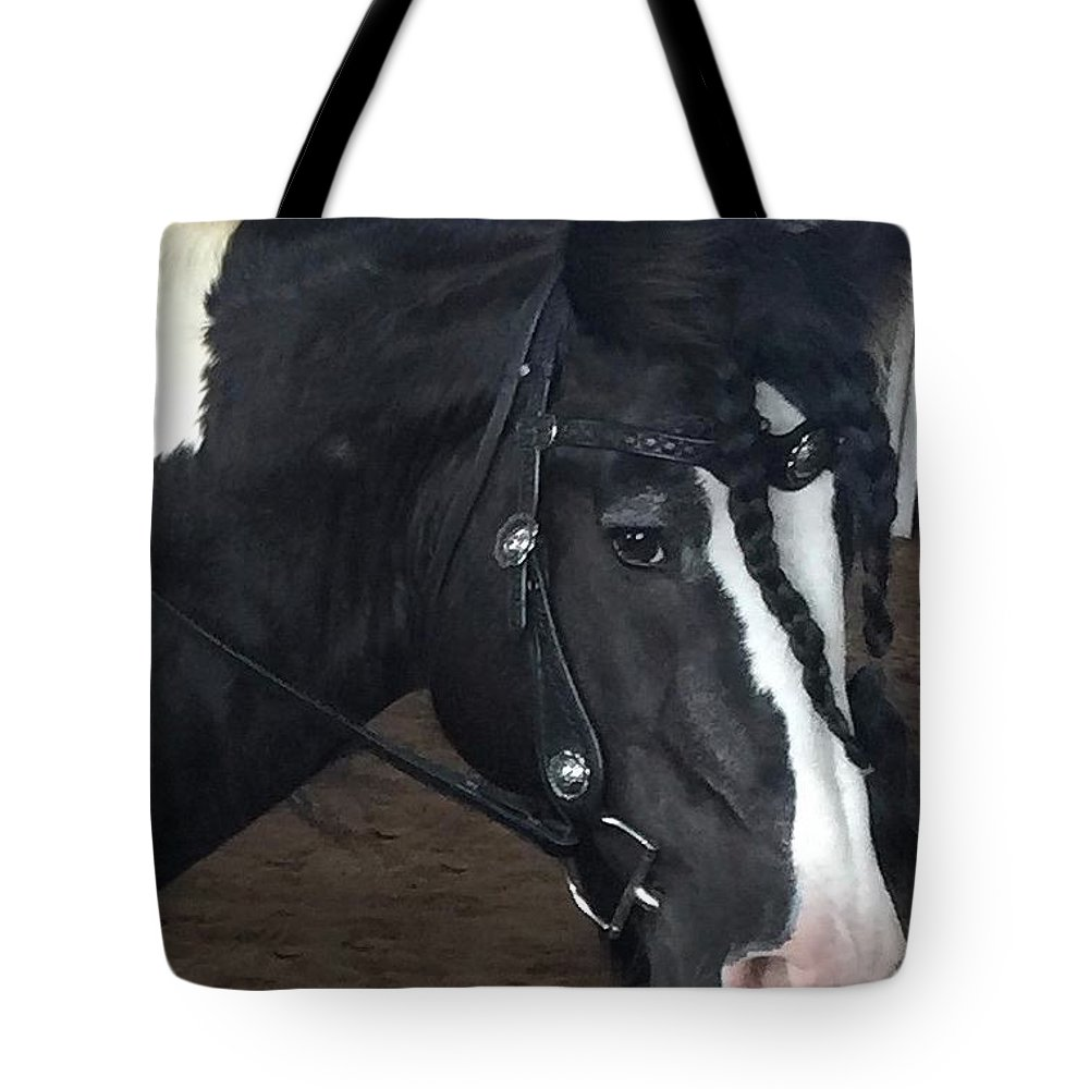 Leo Son Of Lion King Cr Tote Bag featuring the photograph Leo In Braids by Marsha Gulick