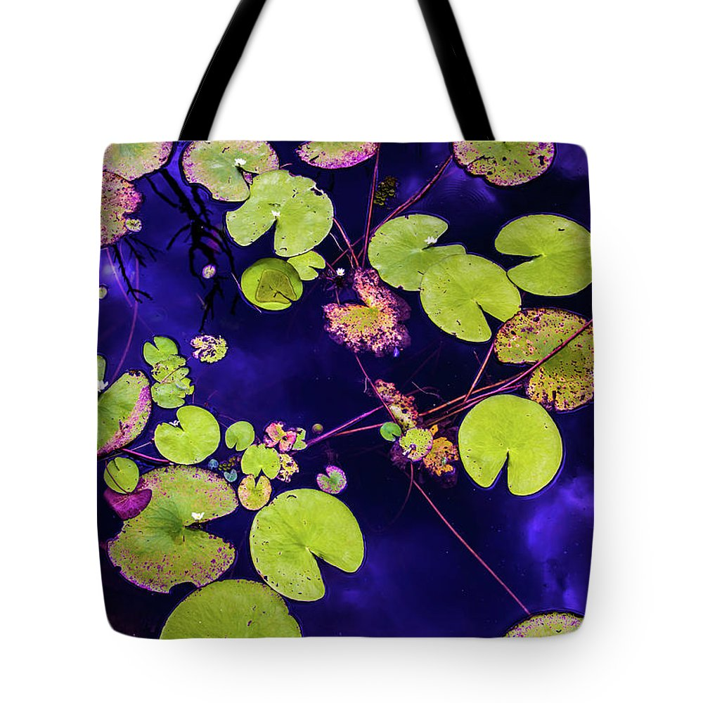 Nature Photography Tote Bag featuring the photograph Little Pac Mans by Az Jackson
