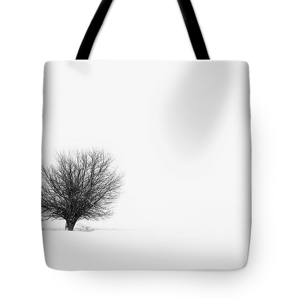 Tranquility Tote Bag featuring the photograph Lone Tree by Jrj-photo
