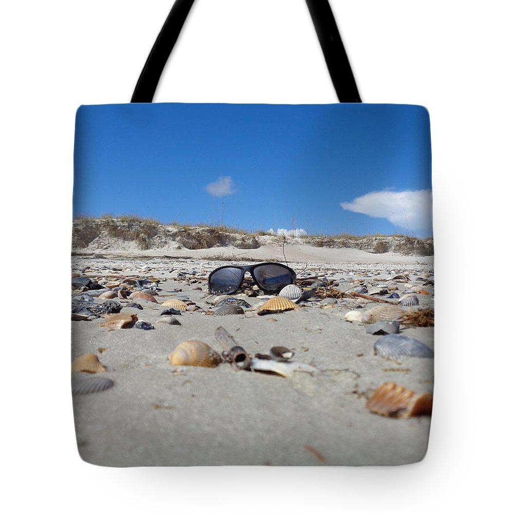 Sun Glasses Tote Bag featuring the photograph Lost In Paradise by Colleen Braun
