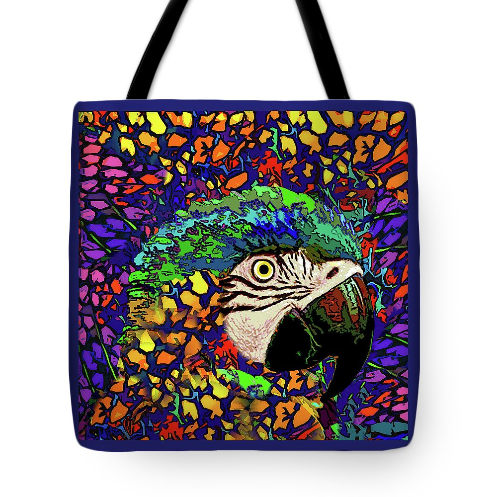 Tote Bag featuring the photograph Macaw High II by Rafael Serur