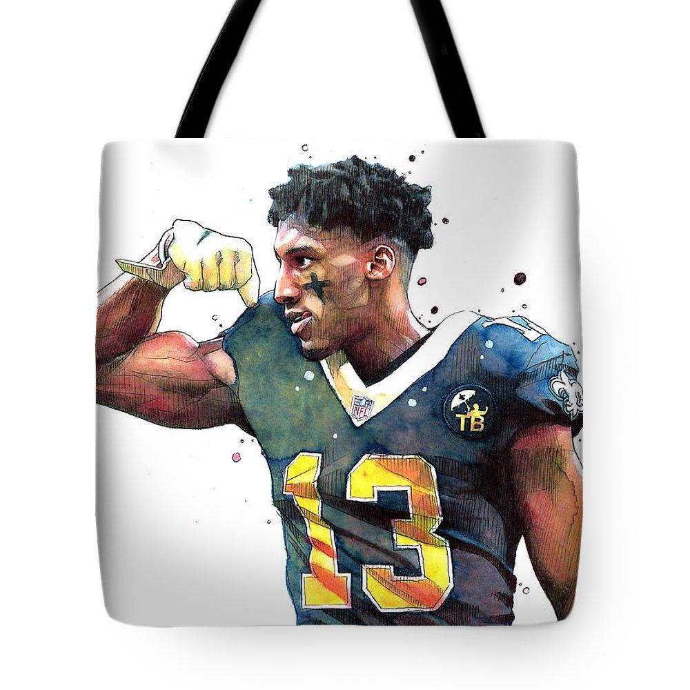 New Orleans Saints Tote Bags