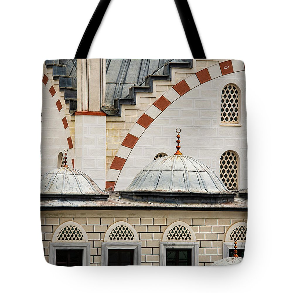 Kemerburgaz Tote Bag featuring the photograph Mimar Sinan Camii by Bob Phillips