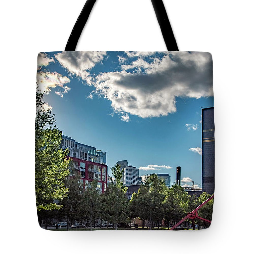 Minnesota Tote Bag featuring the photograph Minneapolis 02 by Will Wagner
