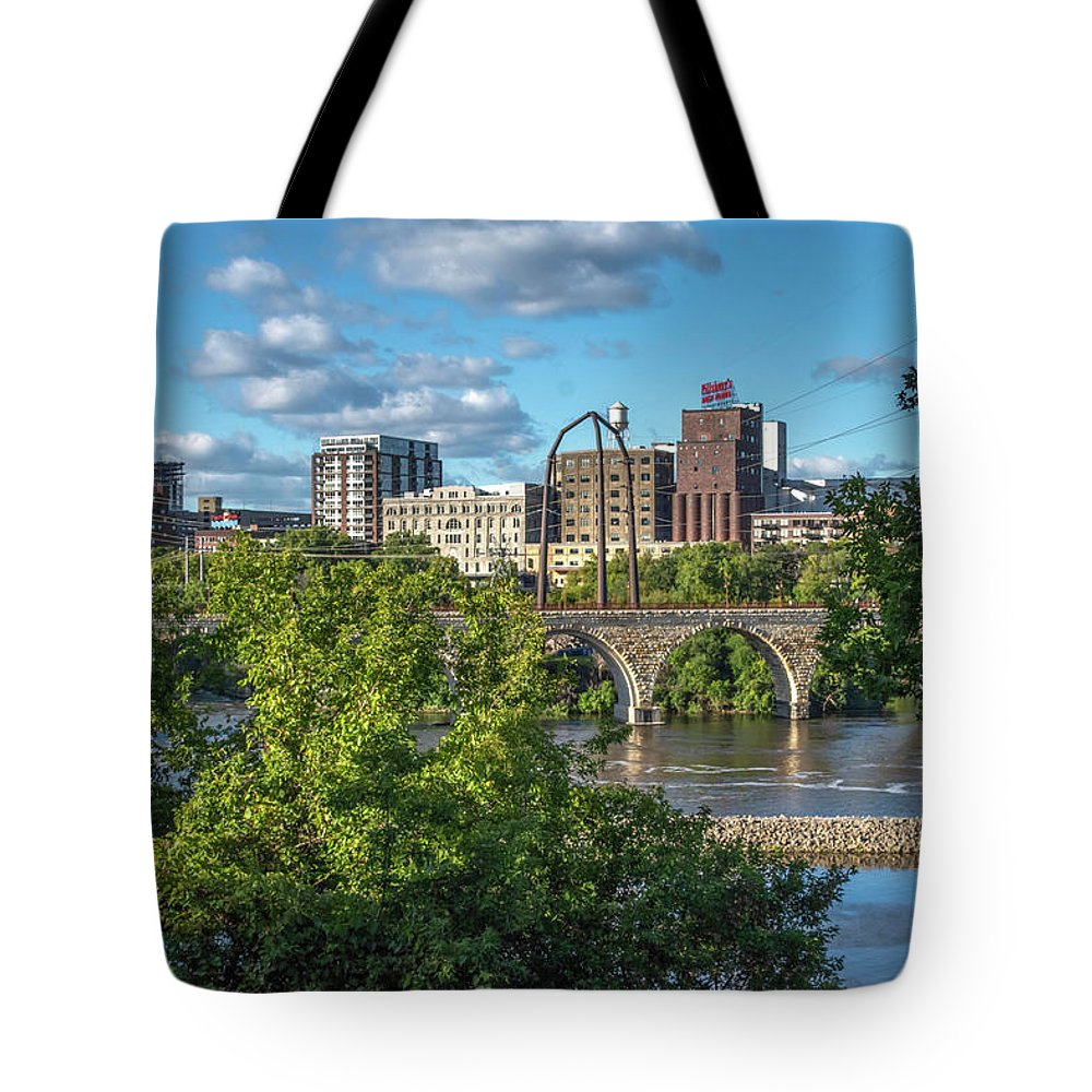 Minnesota Tote Bag featuring the photograph Minneapolis 03 by Will Wagner