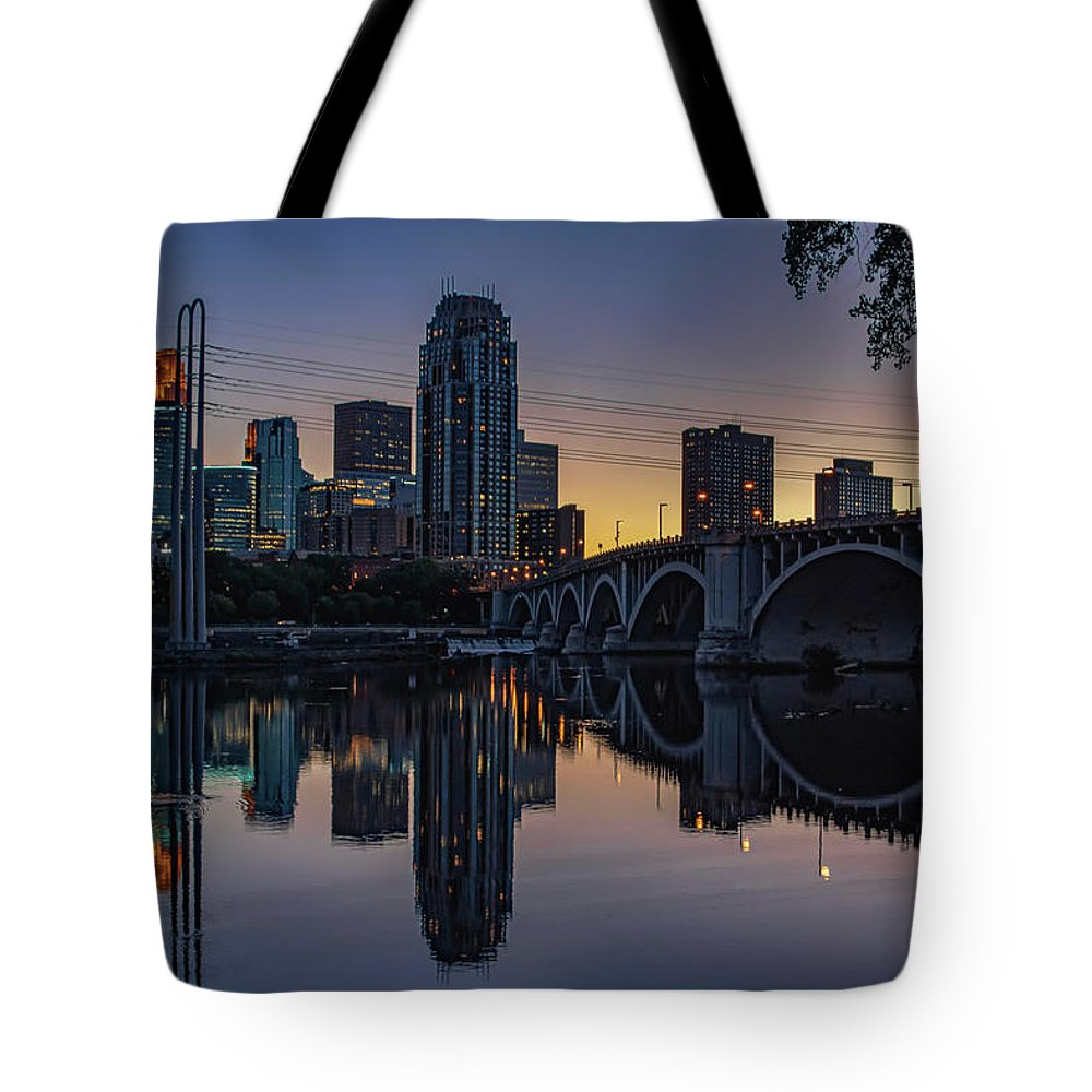Minnesota Tote Bag featuring the photograph Minneapolis 13 by Will Wagner