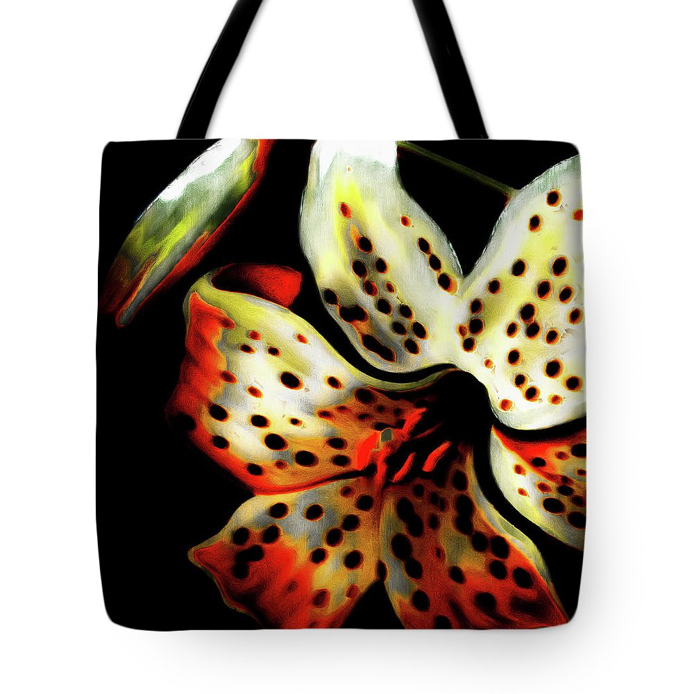Tote Bag featuring the photograph Miss Lily by Dean Arneson