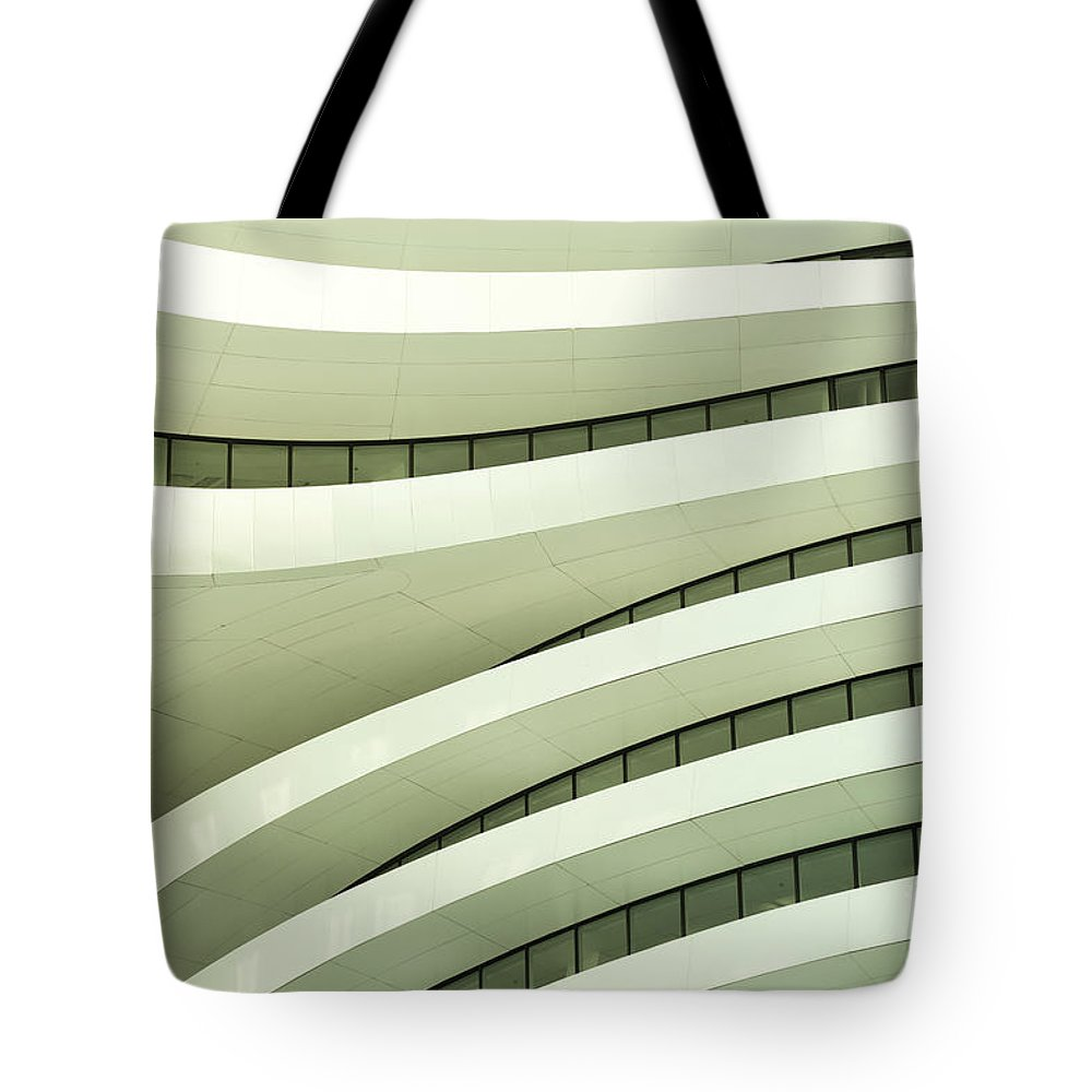 Arch Tote Bag featuring the photograph Modern Architecture by Phototalk