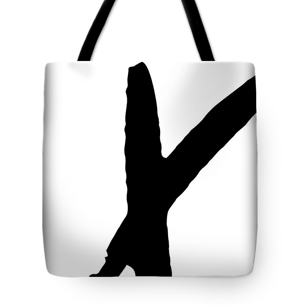 Valentines Tote Bag featuring the digital art Modern X's And O's I by Sd Graphics Studio