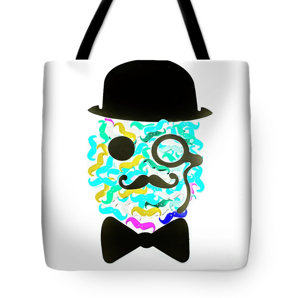 Mustache Tote Bag featuring the photograph Moeicature by Jorgo Photography - Wall Art Gallery