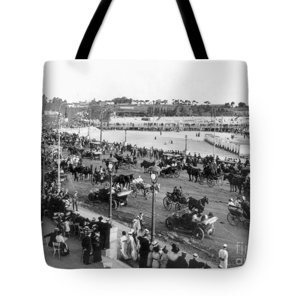 1914 Tote Bag featuring the photograph Montevideo, 1914 by Photograph