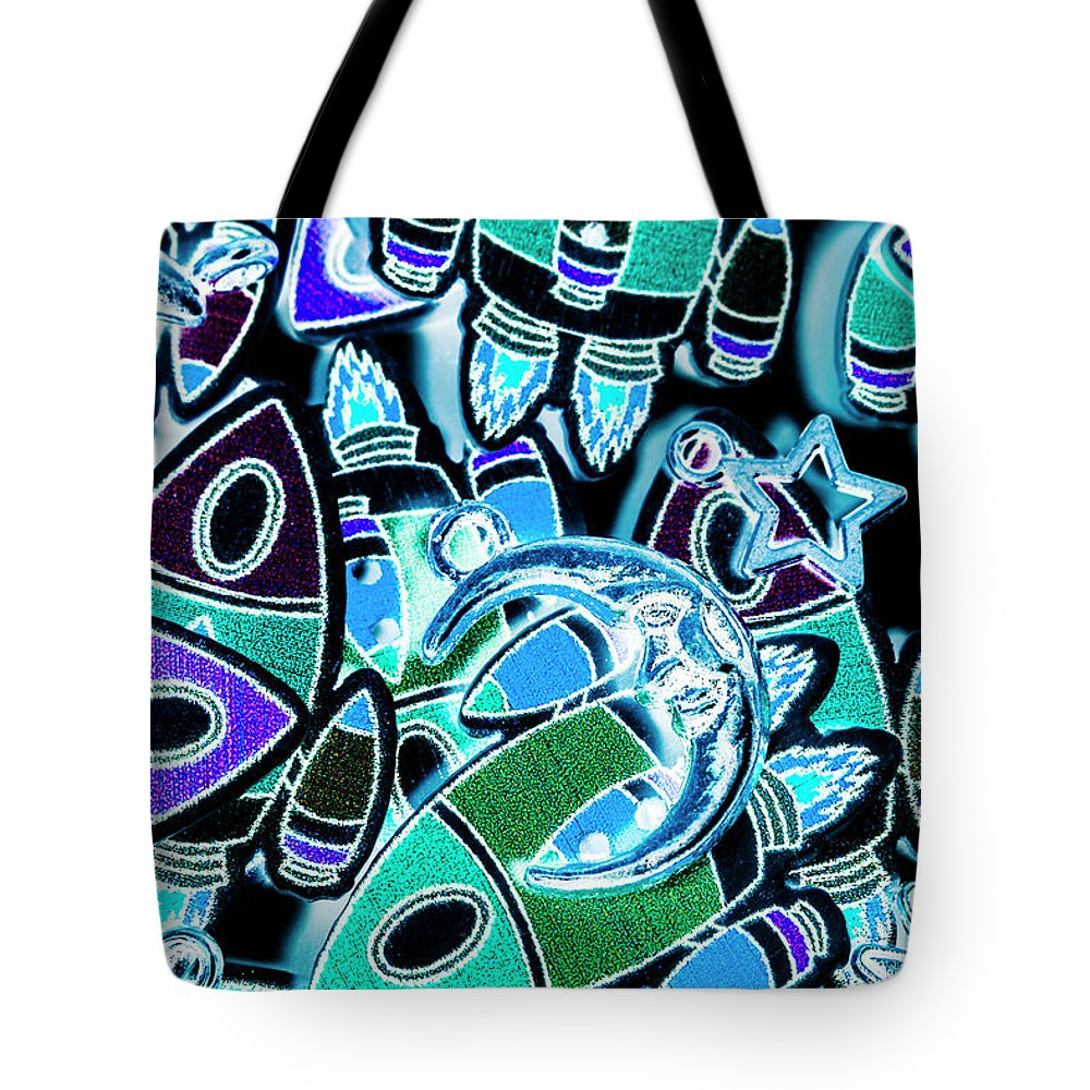 Moon Tote Bag featuring the photograph Moon And Beyond by Jorgo Photography - Wall Art Gallery
