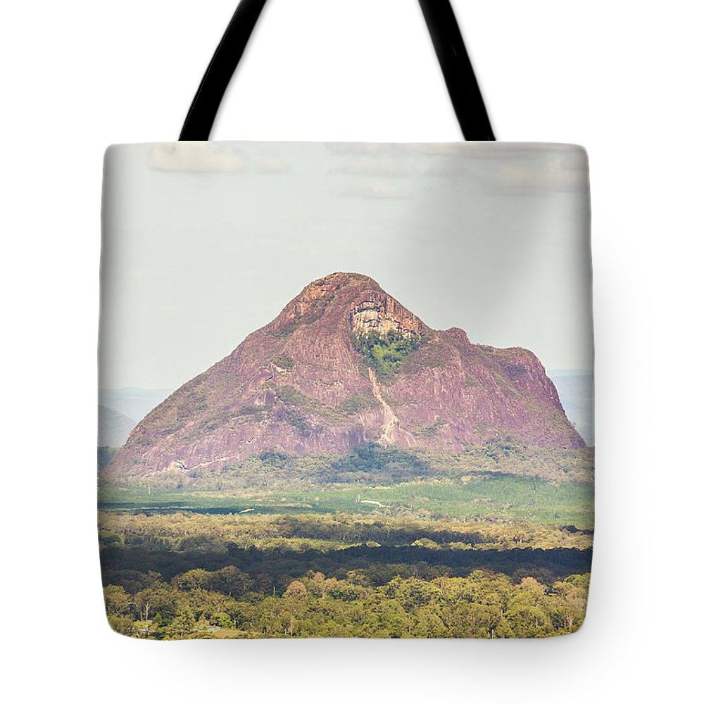 Mountain Tote Bag featuring the photograph Mount Beerwah by Jorgo Photography - Wall Art Gallery