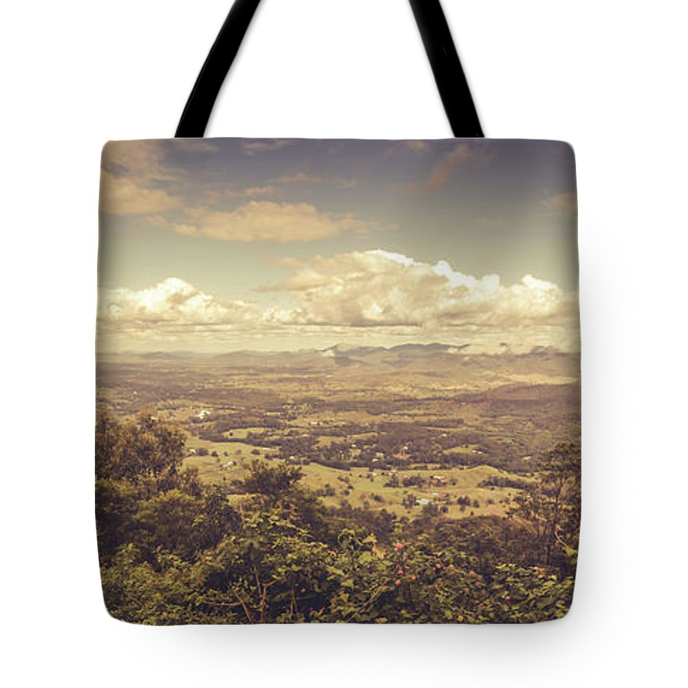 Pastel Tote Bag featuring the photograph Mount Mee by Jorgo Photography - Wall Art Gallery