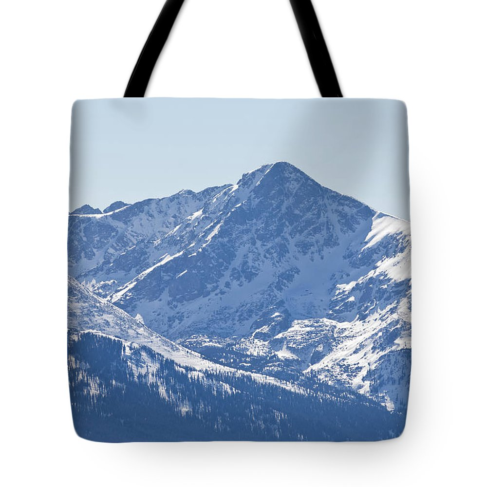 Scenics Tote Bag featuring the photograph Mount Of The Holy Cross Mountain by Adventure photo