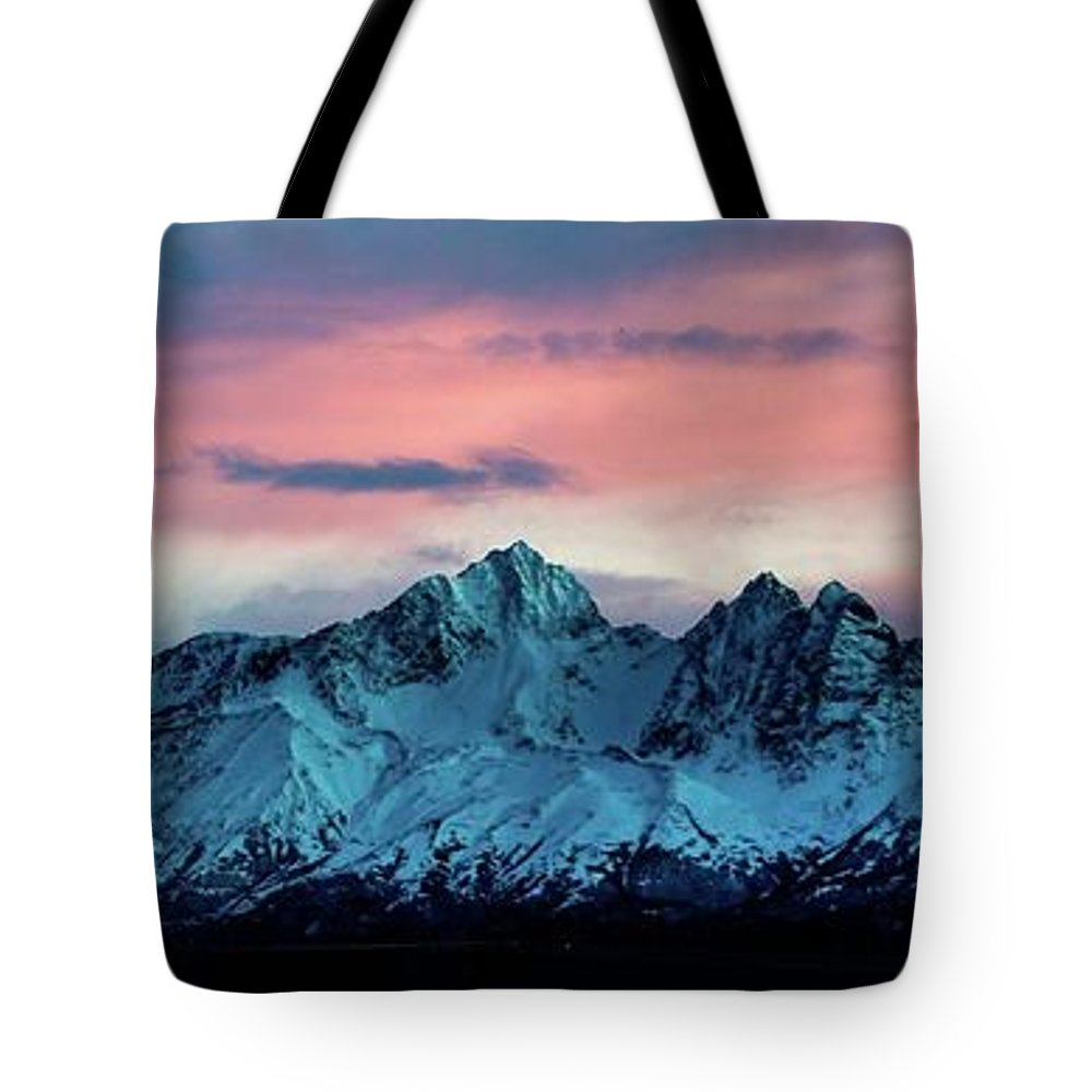 Mountain Tote Bag featuring the photograph Mountain by Mihael Martusheff