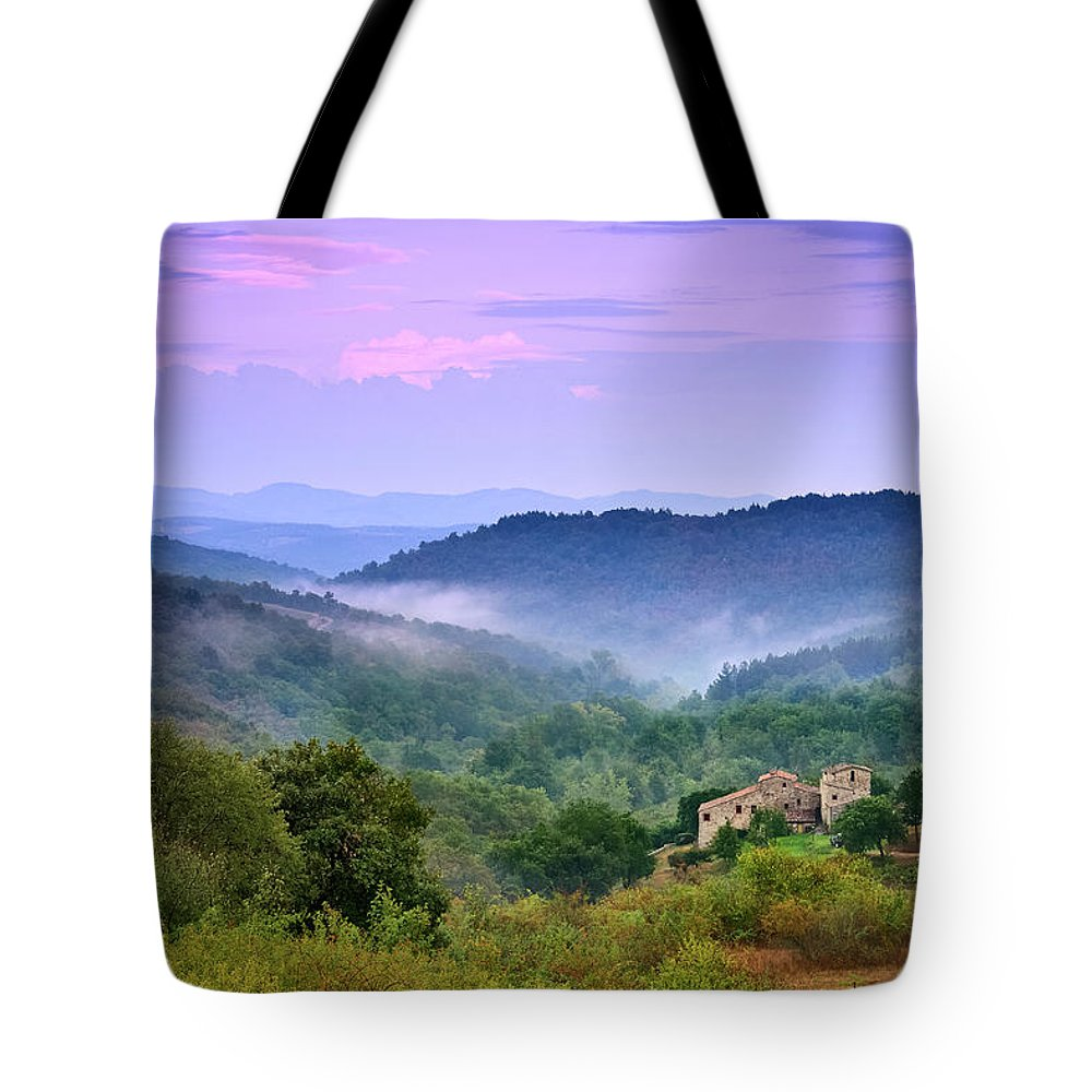 Scenics Tote Bag featuring the photograph Mountains by Christian Wilt