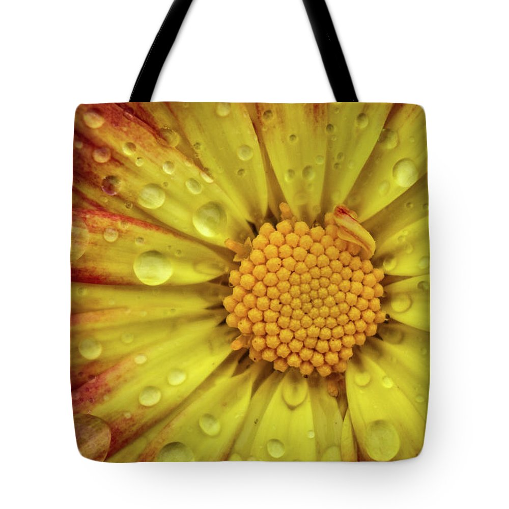 Flower Tote Bag featuring the photograph Mum by Michelle Wittensoldner