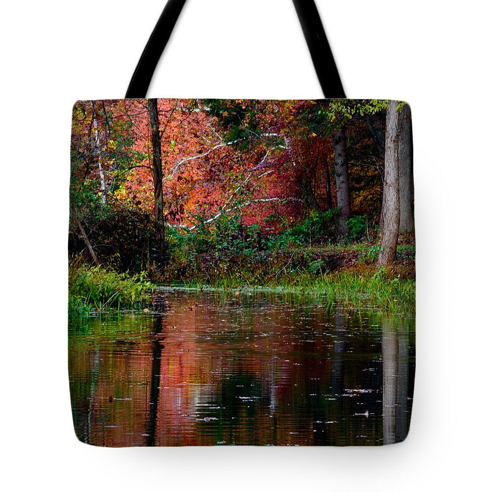 Landscape Tote Bag featuring the photograph My Secret Place by Kristi Swift