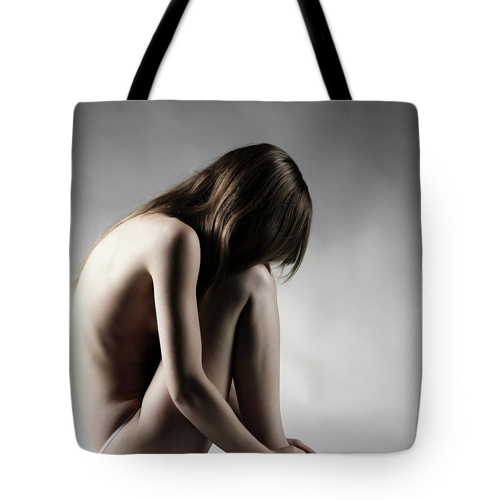 People Tote Bag featuring the photograph Naked Woman by Buena Vista Images