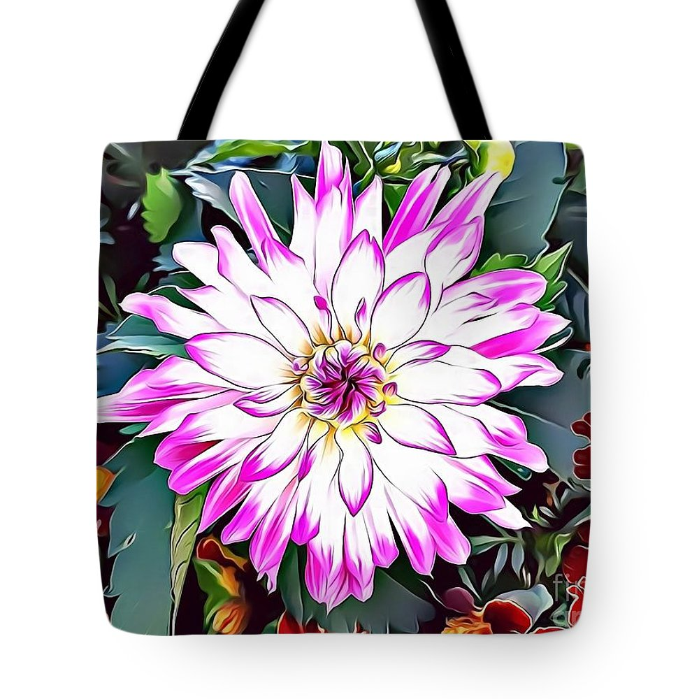 Female Tote Bag featuring the digital art Naturalness And Flowers 38 by Leo Rodriguez