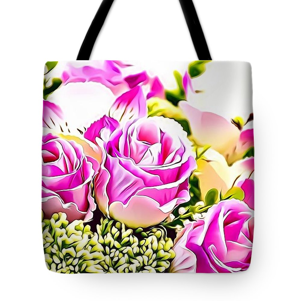 Female Tote Bag featuring the photograph Naturalness And Flowers 50 by Leo Rodriguez