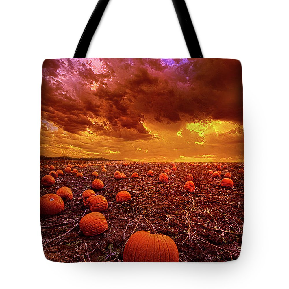 Weather Tote Bag featuring the photograph Nearer We Draw by Phil Koch