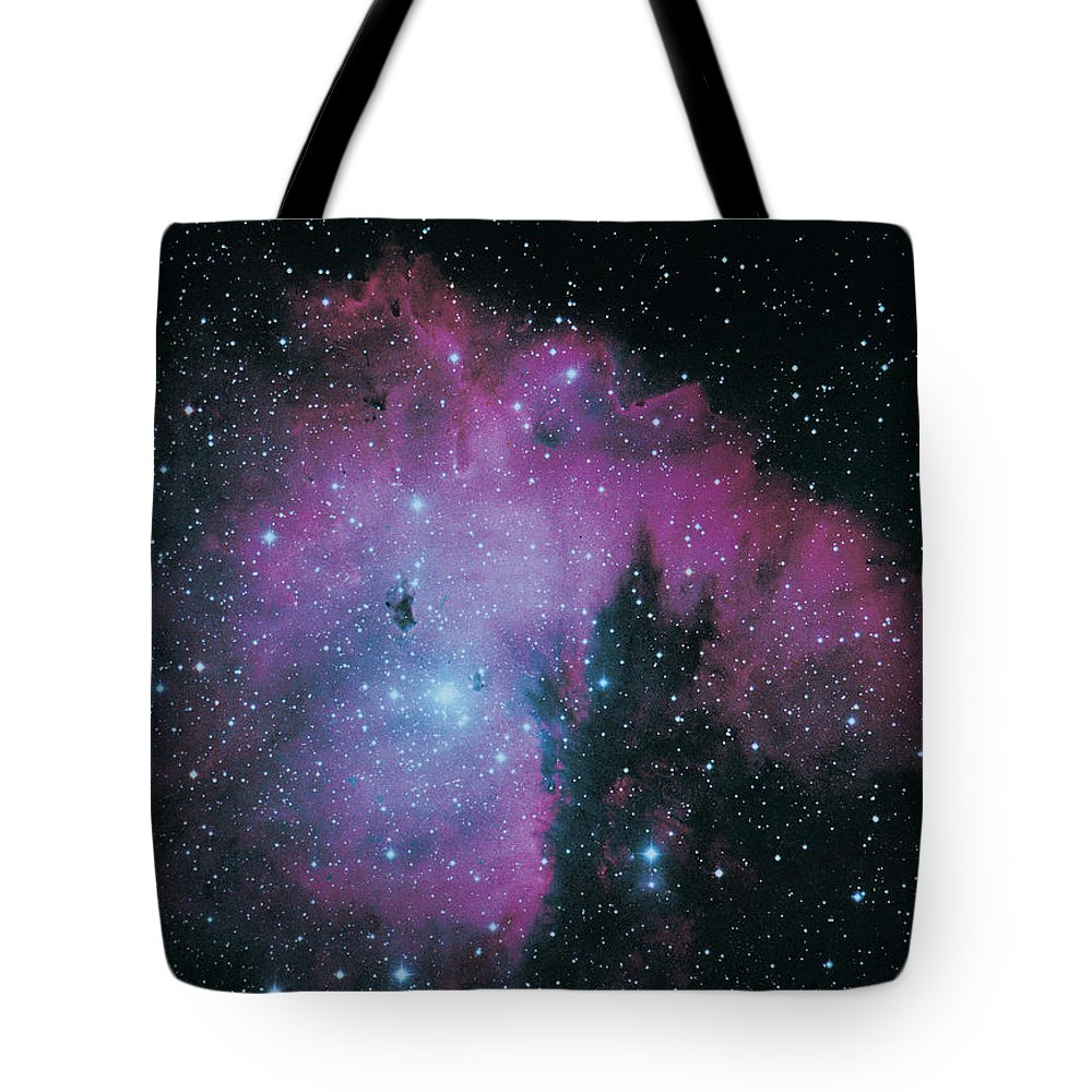 Purple Tote Bag featuring the photograph Nebula by Digital Vision.