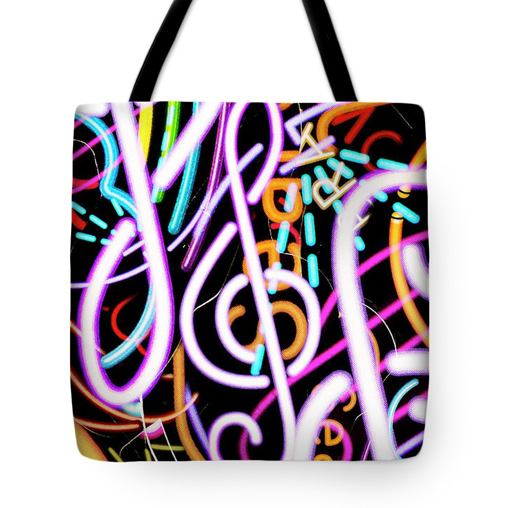 Back Stage Tote Bags