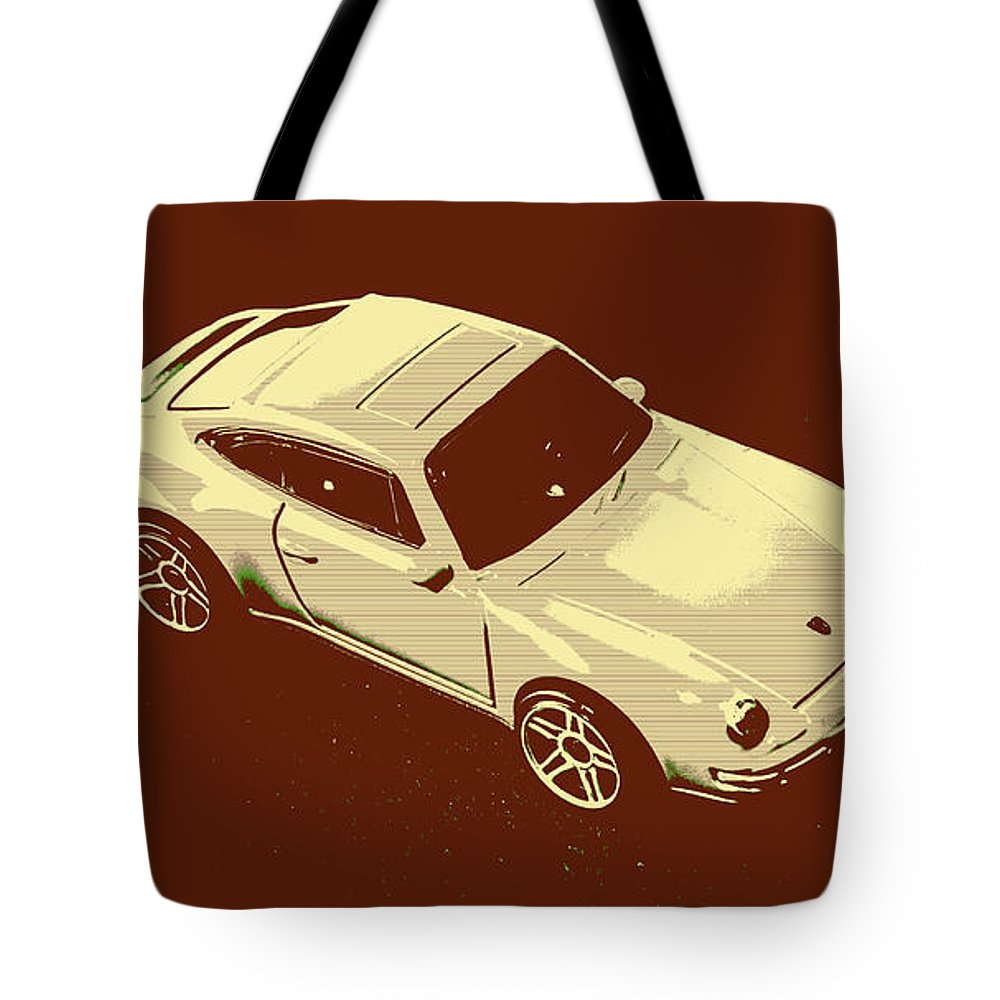 Sportcars Tote Bag featuring the photograph Nineties Retro by Jorgo Photography - Wall Art Gallery