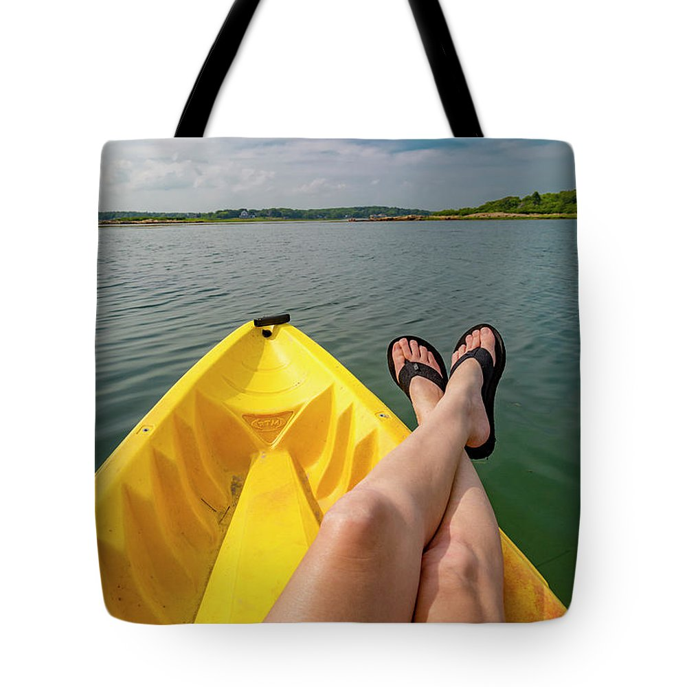 Goat Tote Bag featuring the photograph No Particular Place To Go In Maine by Betsy Knapp