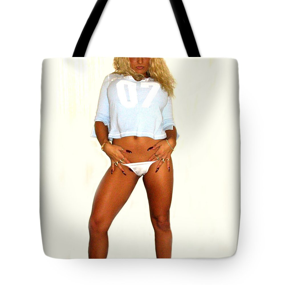 Girl Tote Bag featuring the photograph No Pockets  by Bernardo A Martino