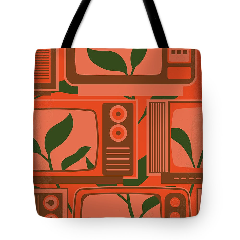 Being Tote Bag featuring the digital art No1096 My Being There Minimal Movie Poster by Chungkong Art