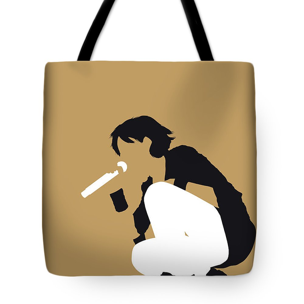 The Tote Bag featuring the digital art No260 My The Cranberries Minimal Music Poster by Chungkong Art
