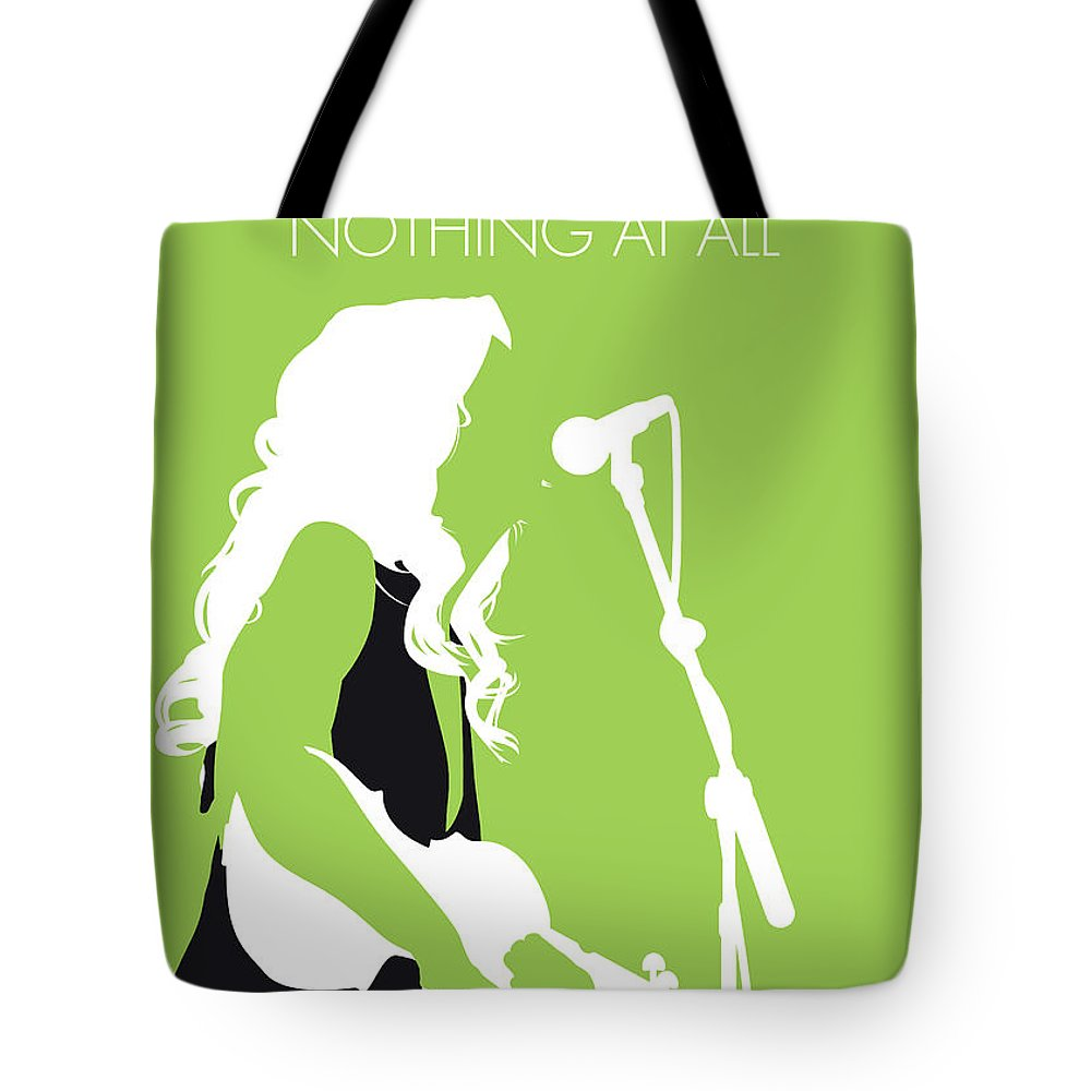 Alison Tote Bag featuring the digital art No276 My Alison Krauss Minimal Music Poster by Chungkong Art