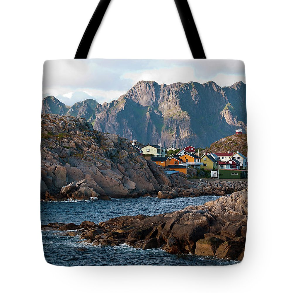 Tranquility Tote Bag featuring the photograph Norway by Brigitte Hermans