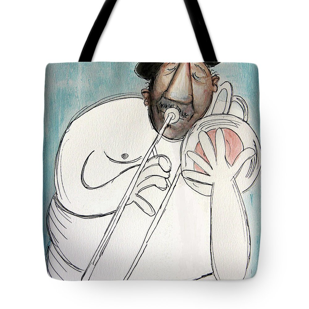 Cubist Tote Bag featuring the painting Nude To The Bone by Anthony Falbo