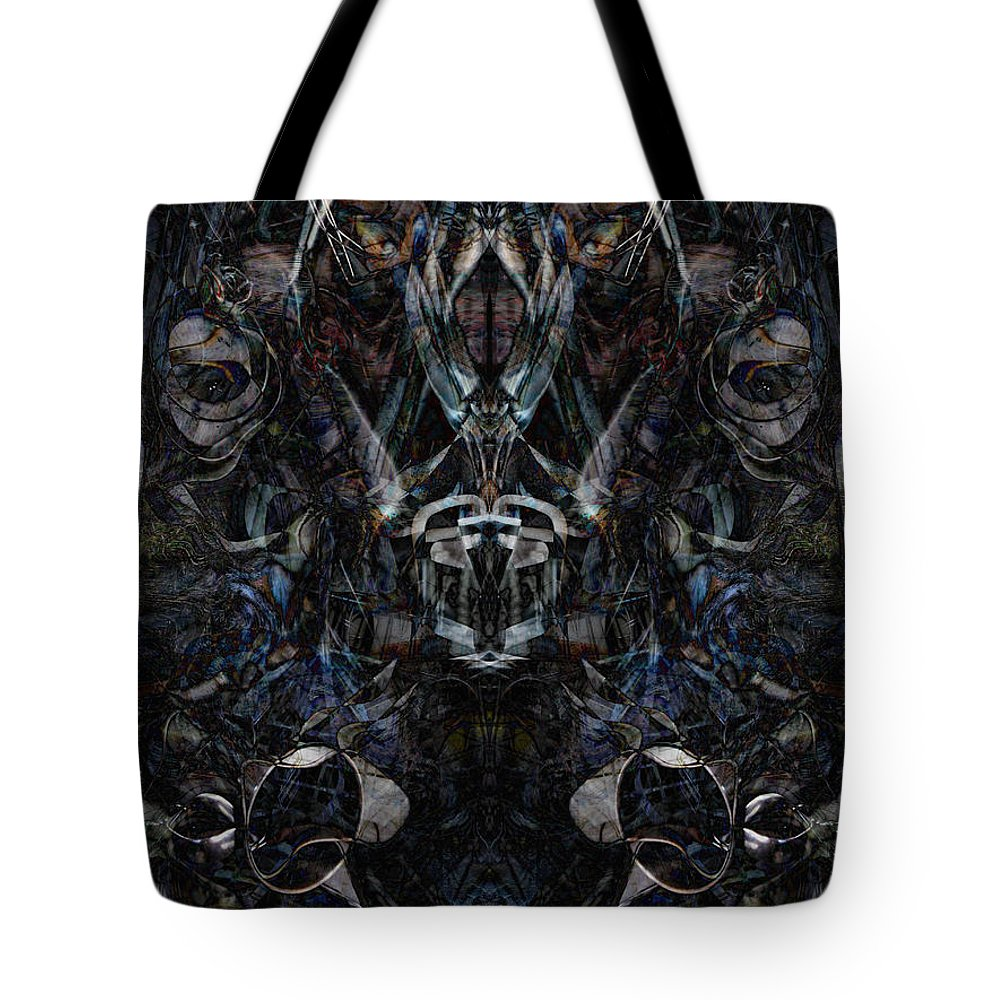 Deep Tote Bag featuring the digital art Oa-6220 by Standa1one