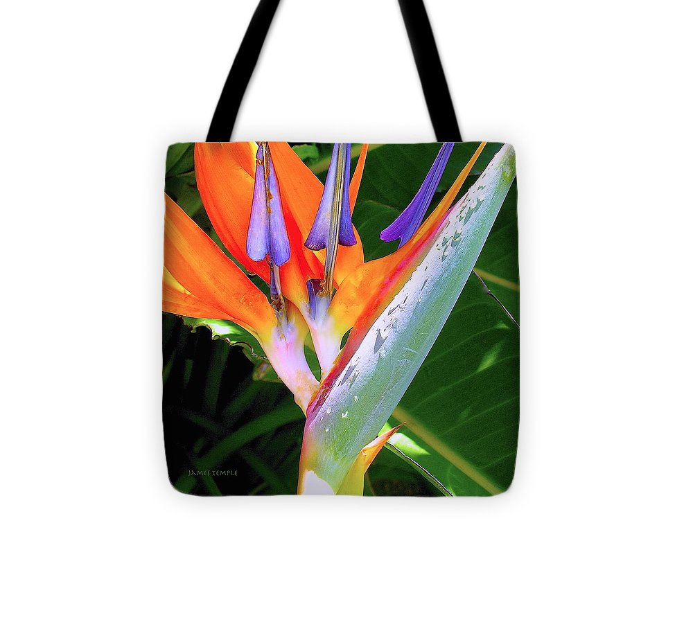 Ode To Spring Tote Bag featuring the photograph Ode to Spring by James Temple