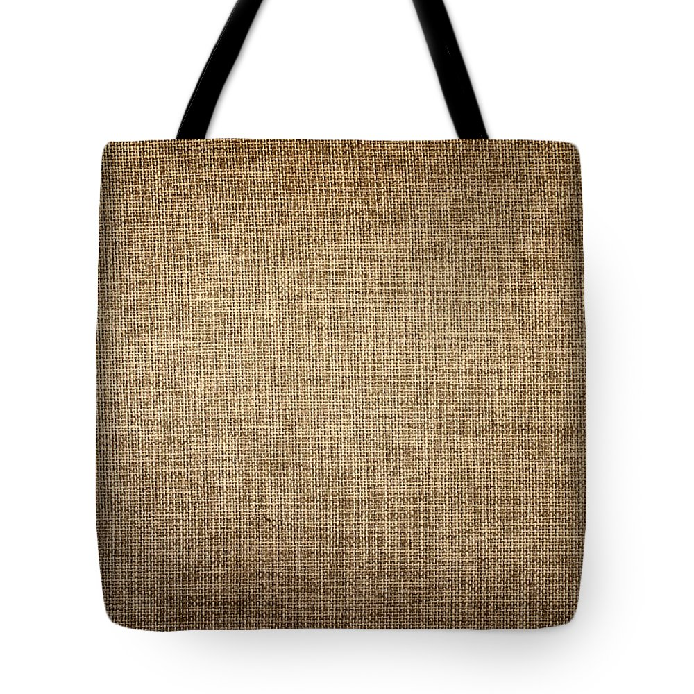 Material Tote Bag featuring the photograph Old Canvas Fabric by Ithinksky