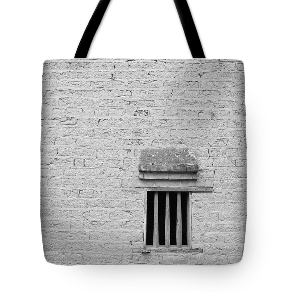 Toughness Tote Bag featuring the photograph Old Prison by Blackred