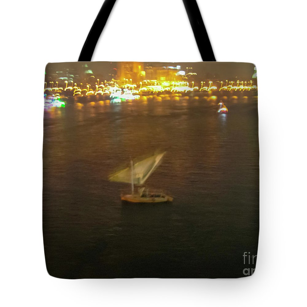 Feluccas Tote Bag featuring the photograph Old Town Cairo, Egypt F1 by Guy Sion