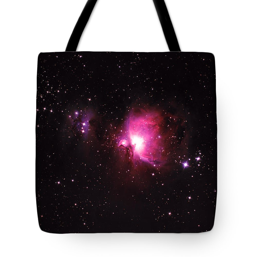 Natural Gas Tote Bag featuring the photograph Orion Nebula by Plefevre